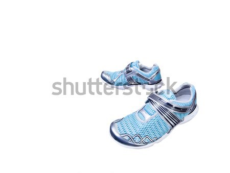 isolated sport shoes Stock photo © Studiotrebuchet