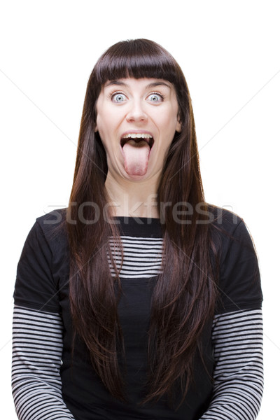 woman expressions Stock photo © Studiotrebuchet