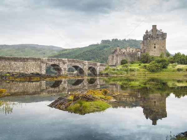 eilean donan castle scotland Stock photo © Studiotrebuchet