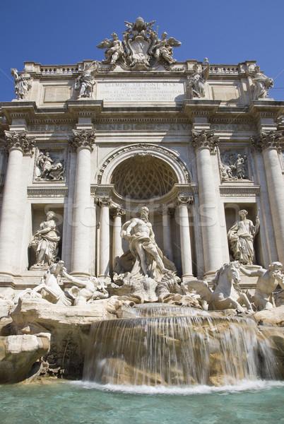 trevi fountain tourism Stock photo © Studiotrebuchet