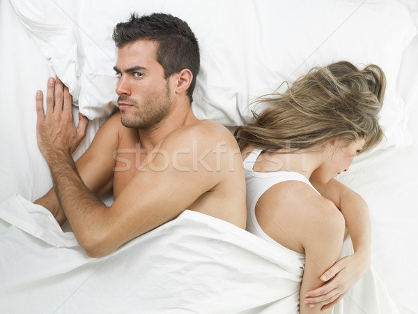 couple has argued and they are angry now Stock photo © Studiotrebuchet