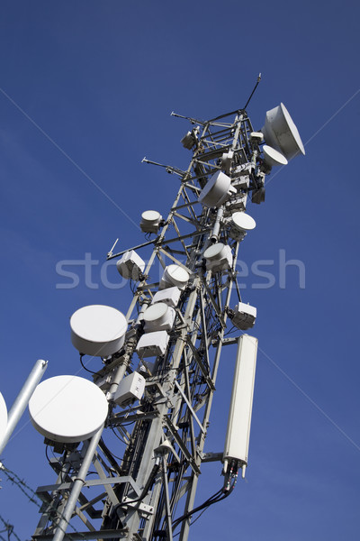 communication antenna Stock photo © Studiotrebuchet