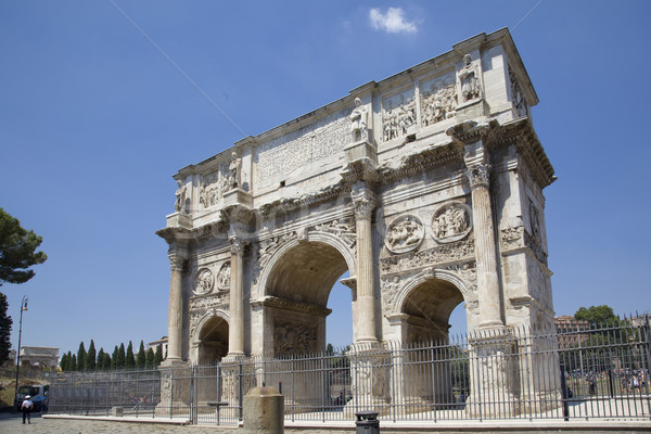 arch of constantine Stock photo © Studiotrebuchet