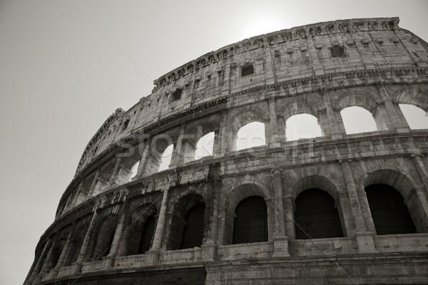 roman coliseum Stock photo © Studiotrebuchet