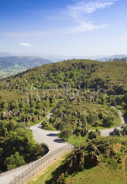 Cantabria landscape Stock photo © Studiotrebuchet