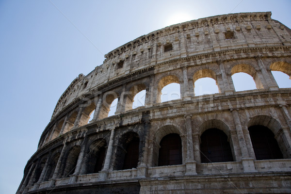 roman coliseum Stock photo © Studiotrebuchet