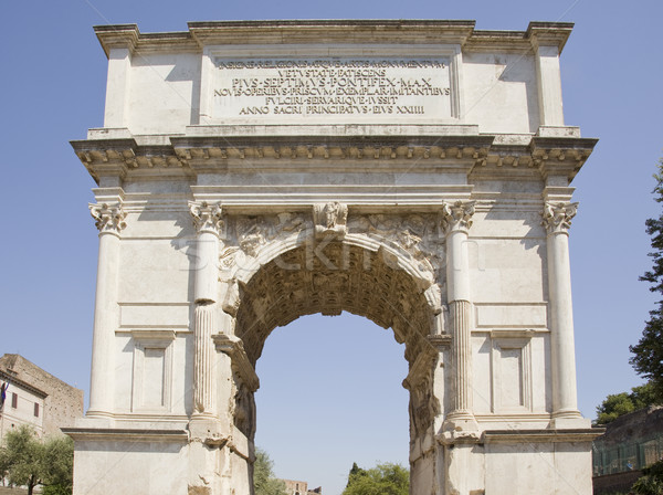arch of titus Stock photo © Studiotrebuchet