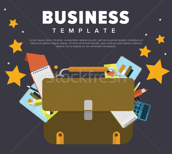 Business concept illustration. Stock photo © studioworkstock