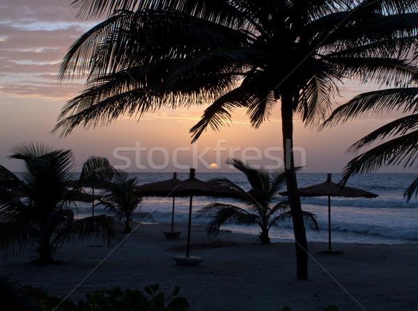 Gambia Sunset Stock photo © suerob