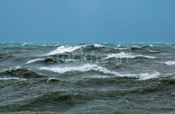 Durva hullámok angol csatorna el víz Stock fotó © suerob