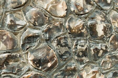 Fal hagyományos Sussex mező épület Stock fotó © suerob