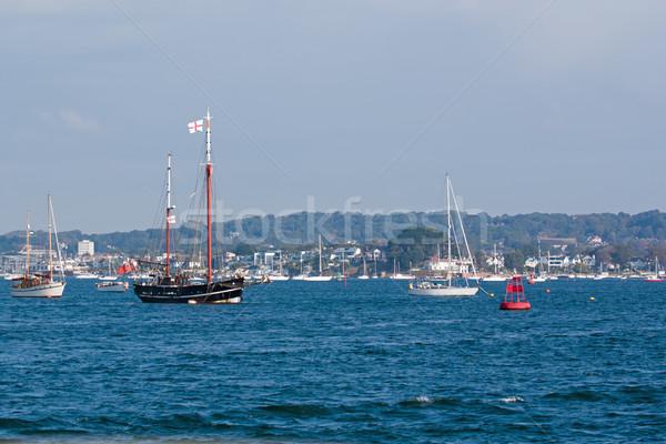 Poole Harbour Boats Stock photo © suerob