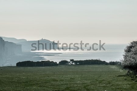 April Morning and Belle Tout Stock photo © suerob