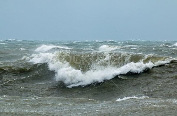 Waves in Rough Sea Stock photo © suerob