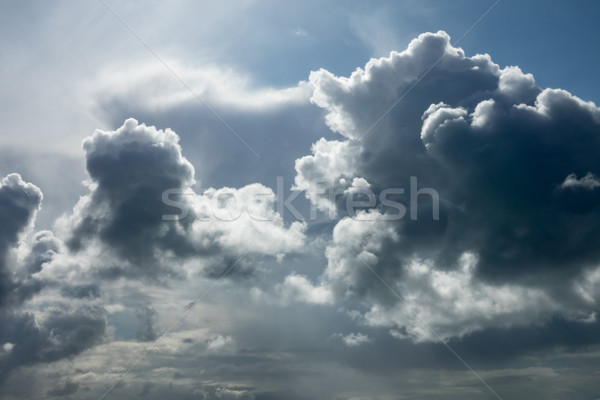 Clouds Backlit by Sun Stock photo © suerob