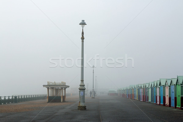 Hove Promenade in Fog Stock photo © suerob