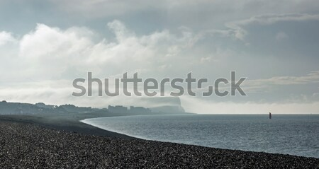 Seaford Head in Cloud Stock photo © suerob