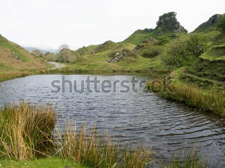 Fairy Glen on The Isle of Skye Stock photo © suerob