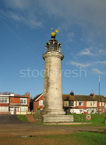 Port phare sussex Angleterre ciel nuages Photo stock © suerob