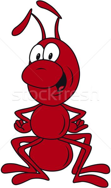 Red Ant Stock photo © Suljo