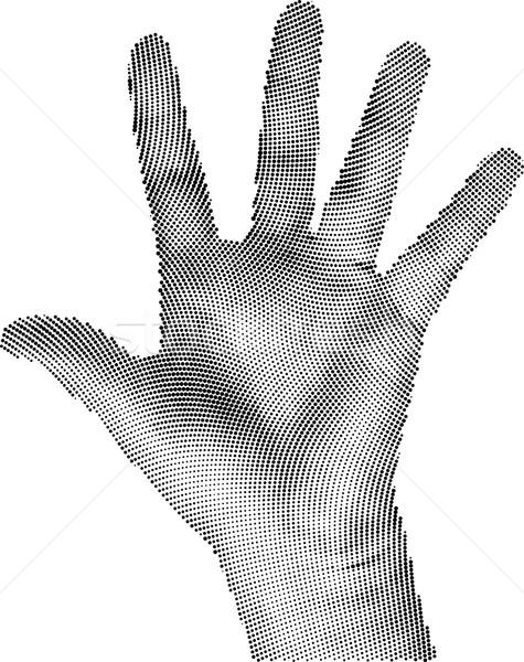 Raster Hand Stock photo © Suljo