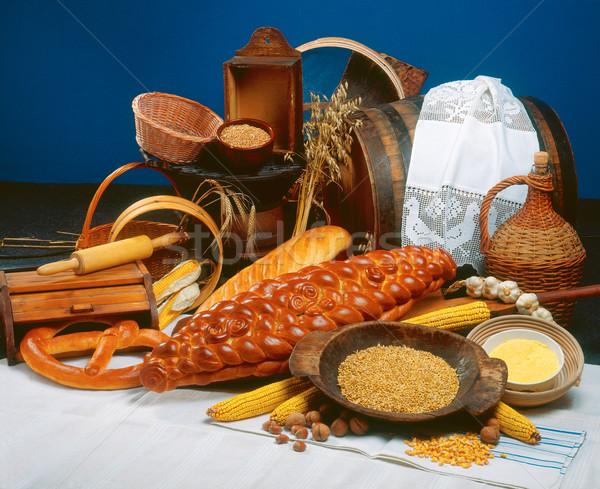 Breads Stock photo © Suljo