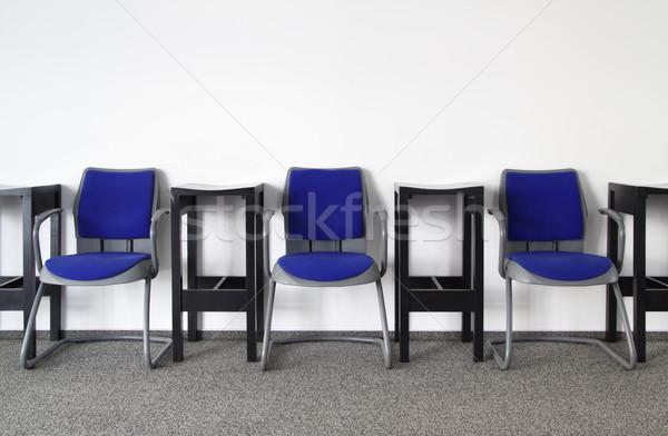 Nikt tutaj krzesła pusty poczekalnia projektu Zdjęcia stock © Suljo