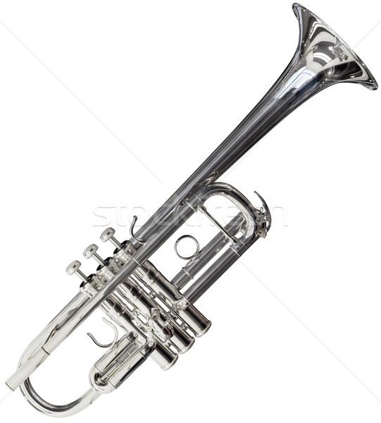 Сток-фото: трубы · серебро · изолированный · белый