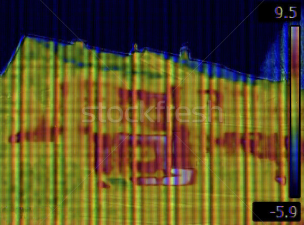 Infrared House Leak Stock photo © Suljo