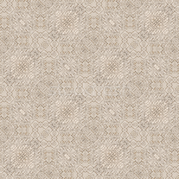 Rattan Basket Seamless Texture Pattern Stock photo © Suljo