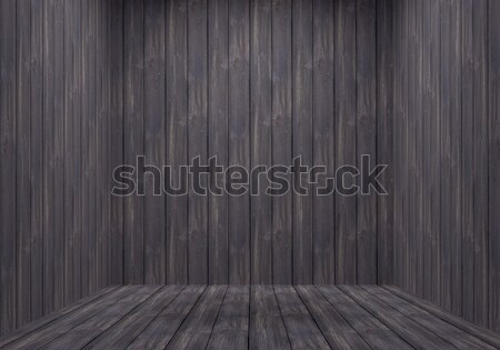 Rugged Wooden Room Stock photo © Suljo