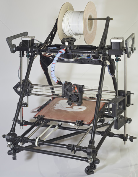 3D imprimante ouvrir source prototype industrie Photo stock © Suljo