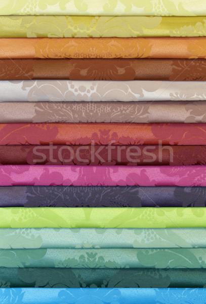 Colorful Drapery Background Stock photo © Suljo