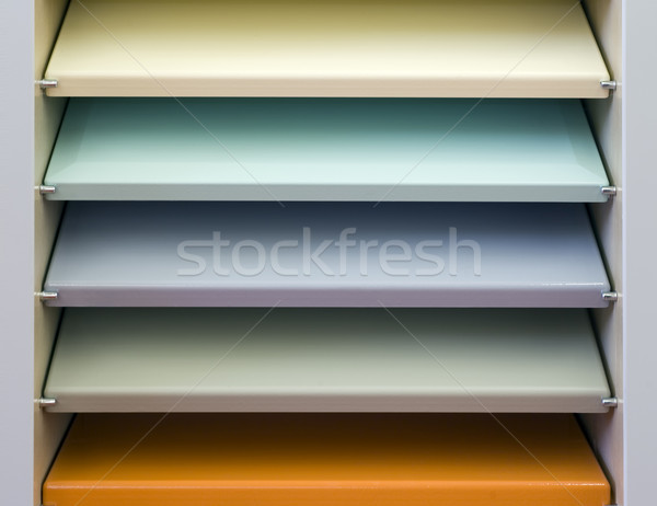 Colorful Bookshelf Stock photo © Suljo