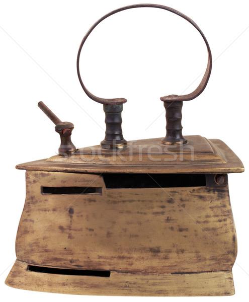 старые железной изолированный Vintage Сток-фото © Suljo