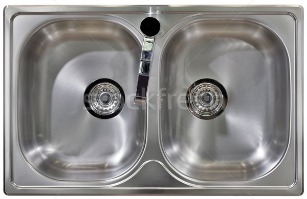 Kitchen Sink Cutout Stock photo © Suljo