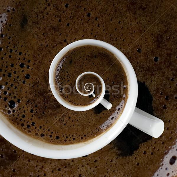 Caffeine Addiction Swirl Stock photo © Suljo