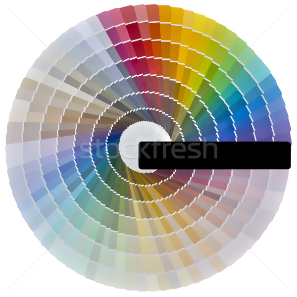 Color Swatch Cutout Stock photo © Suljo