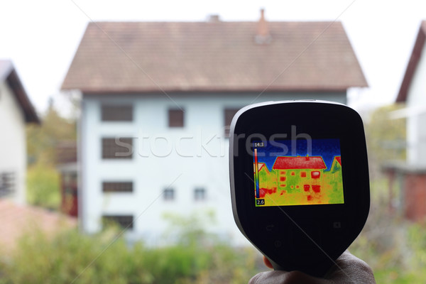 Heat Loss Detection Stock photo © Suljo