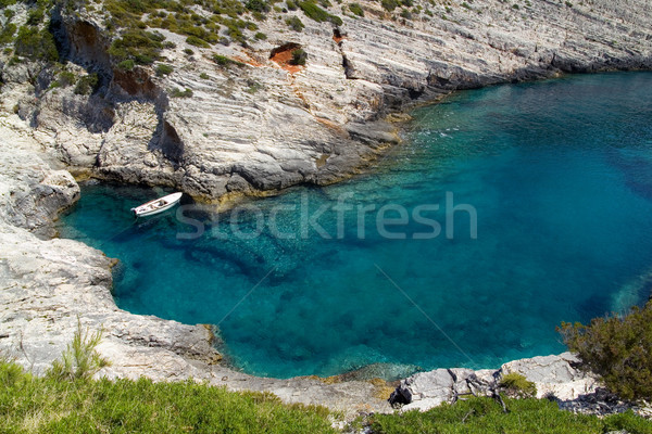 Small Mediterranean Bay Stock photo © Suljo