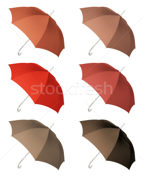 UmbrellaThree Stock photo © Suljo
