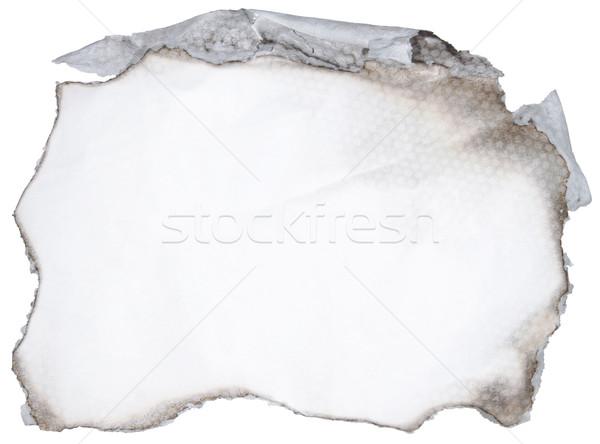 Burned paper Stock photo © Suljo