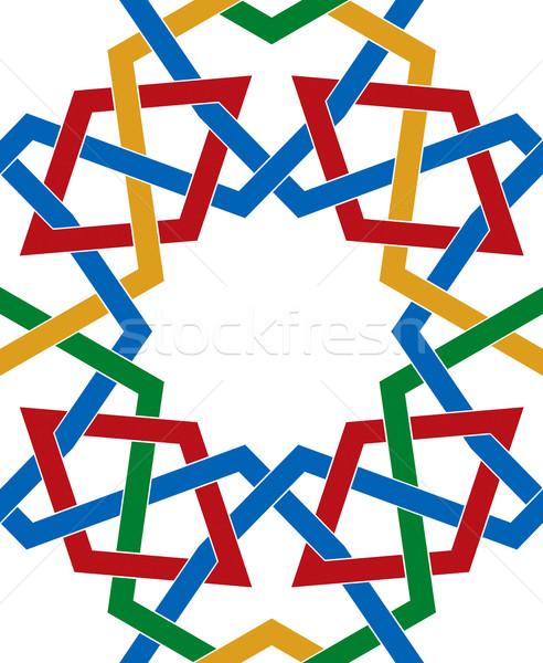 Colorful pattern Stock photo © Suljo