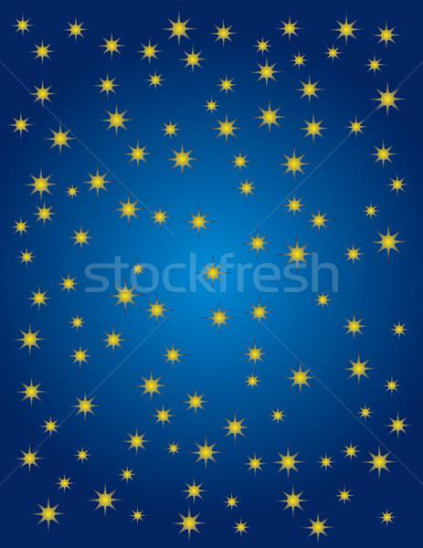 Starry night Stock photo © Suljo