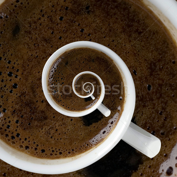 Coffee Cup Above Stock photo © Suljo