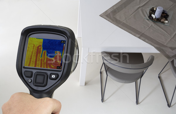 Thermal Imaging Underfloor Heating Stock photo © Suljo