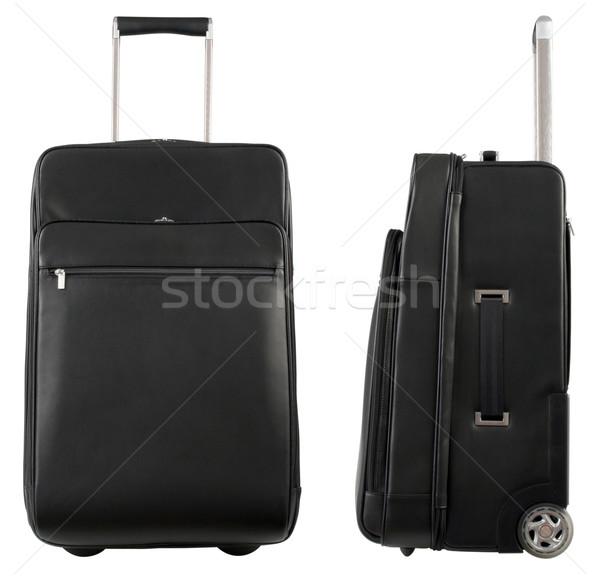 мешки два черный путешествия изолированный белый Сток-фото © Suljo