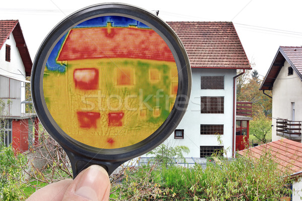 Magnifying Glass Infrared Stock photo © Suljo