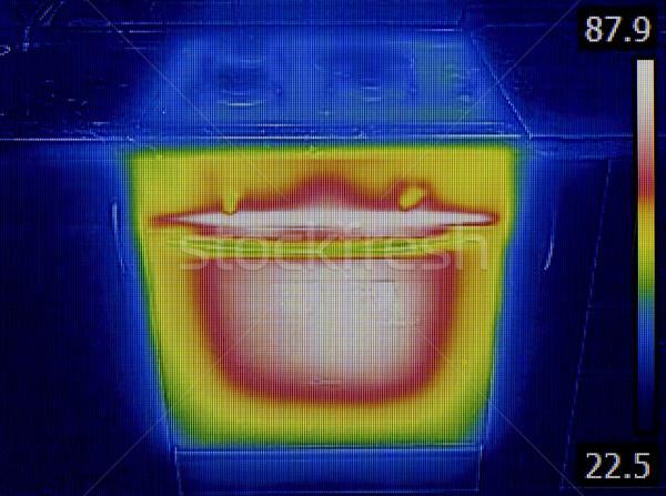 Görüntü fırın test yalıtım ısı sızıntı Stok fotoğraf © Suljo