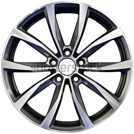 Carreras aluminio rueda deporte Foto stock © Suljo